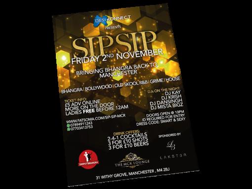 Sip Sip Nov A3 Poster