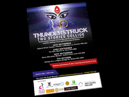 Thunderstruck A3 Poster