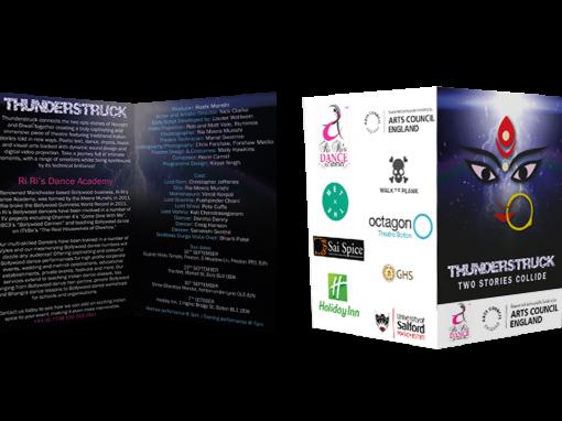 Thunderstruck Folded Programme
